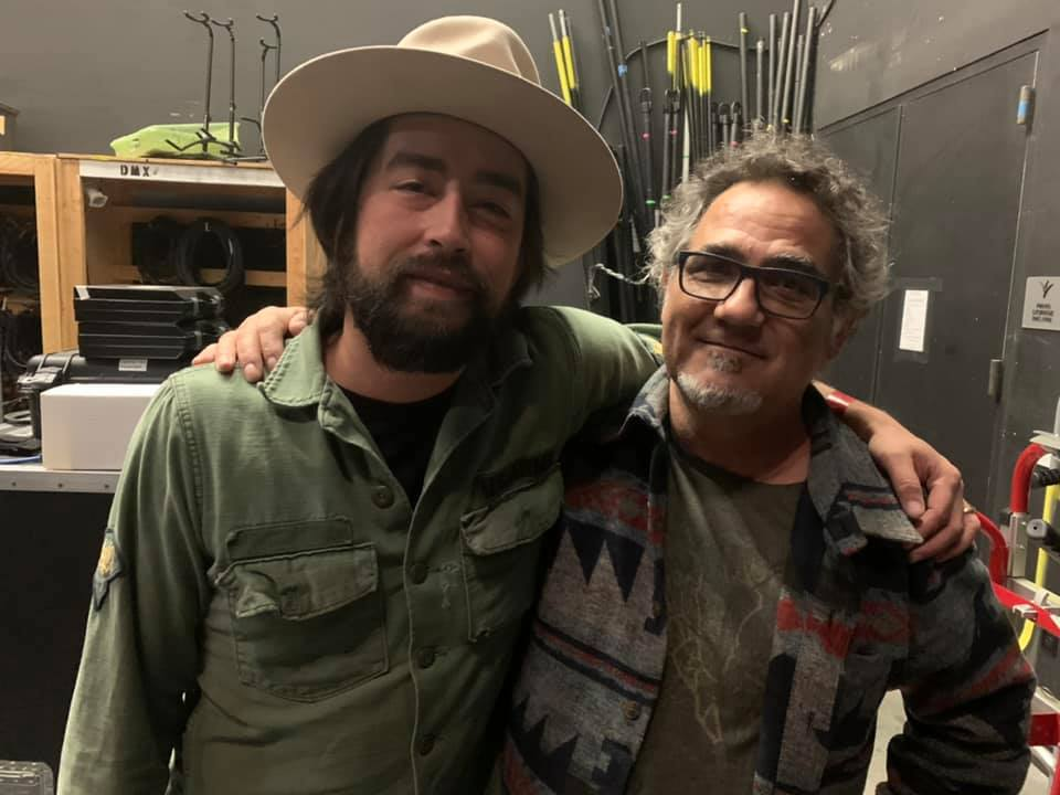 Todd Perez and Jackie Greene